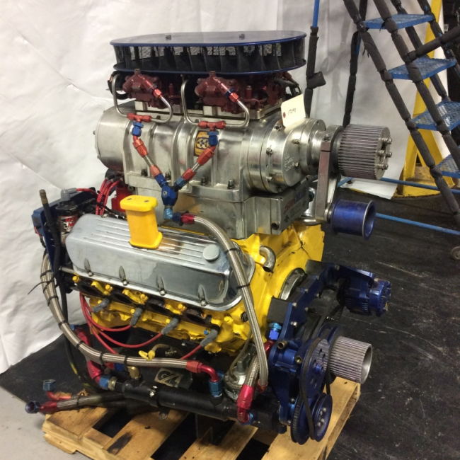 Pair of 588 CID 850HP Engines.